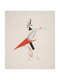 Victory Over the Sun, 7. Troublemaker Impressão giclée por El Lissitzky