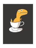Tea Rex Posters por Michael Buxton