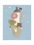 Patchwork Ark Prints by Viv Eisner