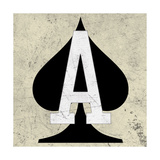 Ace of Spades Premium Giclee Print by Aubree Perrenoud