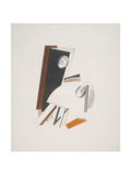 Victory Over the Sun, 4. Anxious People Giclee-trykk av El Lissitzky