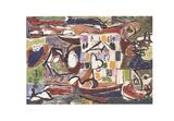 The Tea Cup (Accabonac Creek Series) Litho van Jackson Pollock