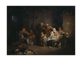 The Blind Fiddler Reproduction procédé giclée par Sir David Wilkie