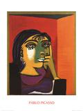 Dora Maar Litografia por Pablo Picasso