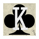 King of Clubs Antique Premium Giclee Print by Aubree Perrenoud