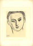 D'apres Ilya Ehrenbourg Litografi av Henri Matisse