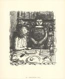 El menú Litografía por Pierre Bonnard