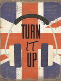 Turn It Up Poster by ND Art
