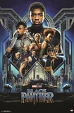 Black Panther - Group One Sheet Print