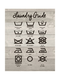 Laundry Guide Posters by Jo Moulton