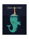 King of the Narwhals Pôsteres por Michael Buxton