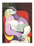 Le Reve (Marie Therese) Litografia por Pablo Picasso