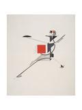 Victory Over the Sun, 10. New Man Giclee-trykk av El Lissitzky