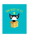 Think Outside the Box Pôsters por Michael Buxton