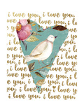 I Love You Posters by Jo Moulton