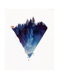 Near to the Edge Giclée-Premiumdruck von Robert Farkas