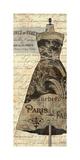 Newsprint Dior II Giclee Print by Suzanne Nicoll