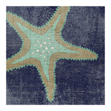 Denim and Sand E Giclee Print by Suzanne Nicoll