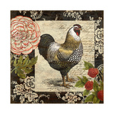 French Rooster I Giclee Print by Suzanne Nicoll