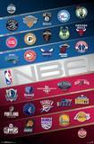 NBA - Logos Posters
