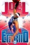 Philadelphia 76ers - J Embiid 17 Prints