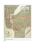 MTA Map 1958 Poster