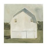 Serene Barn VI Premium Giclee Print by Emma Scarvey