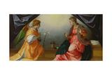 The Annunciation, 1528 Giclée-tryk af Sarto, Andrea del