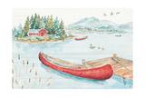 Lake Moments II Poster par Daphne Brissonnet