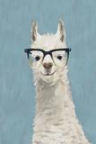 Llama Specs II Premium Giclee Print by Victoria Borges
