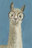 Llama Specs III Poster von Victoria Borges