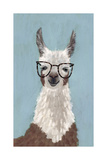Llama Specs I Reproduction giclée Premium par Victoria Borges