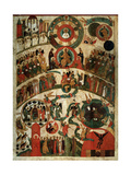 Last Judgement, Novgorod Icon Giclee Print by  Russian School