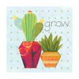 Southwest Cactus II Print by Courtney Prahl