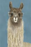 Llama Specs IV Premium Giclee Print by Victoria Borges
