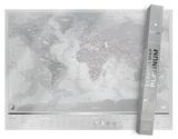 Scratch Map Platinum Edition Poster