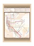 MTA Map Vignelli Vintage Prints