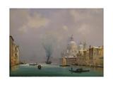 Venice under snow, c.1840 Giclee Print by Ippolito Caffi