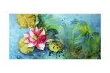 Horizontal Flores VI Premium Giclee Print by Leticia Herrera