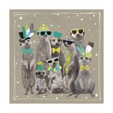 Fancy Pants Zoo I Lámina giclée prémium por Hammond Gower