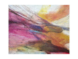 Fuchsia Expression II Premium Giclee Print by Gabriela Villarreal