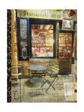 Paris Bistro II Giclée-Premiumdruck von Sandy Lloyd