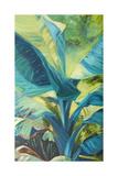 Green Banana Duo I Reproduction giclée Premium par Suzanne Wilkins