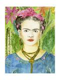 Frida Kahlo II Art par Melissa Wang