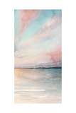 Sea Sunset Triptych III Premium Giclee Print by Grace Popp