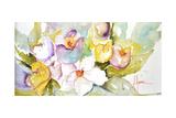Horizontal Flores IV Premium Giclee Print by Leticia Herrera