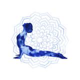 Yoga Flow VI Premium Giclee Print by Grace Popp