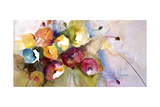 Horizontal Flores V Premium Giclee Print by Leticia Herrera