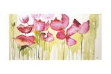 Horizontal Flores I Premium Giclee Print by Leticia Herrera