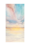 Sea Sunset Triptych II Premium Giclee Print by Grace Popp